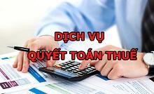 Dịch vụ lập Báo cáo quyết toán thuế năm